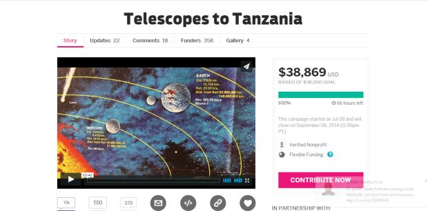 Amazing Grace to Tanzania